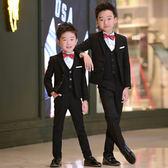 兒童西裝套裝花童禮服韓版男童西服外套小男孩鋼琴演出服主持人夏 滿天星