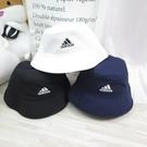 ADIDAS COTTON BUCKET 漁夫帽 H368- 深藍 / 白 / 黑三色 【iSport愛運動】