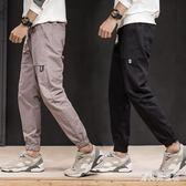 九分工裝哈倫褲 運動男士休閒褲束腳褲寬鬆小腳褲男潮流秋季 BF22490『寶貝兒童裝』