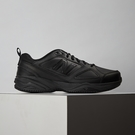 New Balance 男鞋 黑 皮革 走路鞋 MID626K2