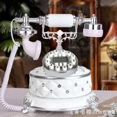 歐式電信固定電話坐機仿古復古插卡無線座機家用古董創意時尚老式 NMS漾美眉韓衣