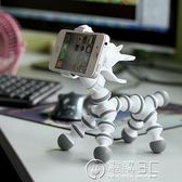小馬手機支架懶人創意桌面小狗小牛手機支架蘋果華為通用卡通   電購3C