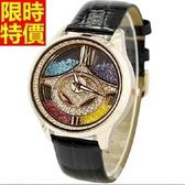 鑽錶-品味高貴獨一無二女腕錶2色5j38【巴黎精品】