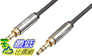[106美國直購] AmazonBasics 3.5mm Male to Male Stereo Audio Cable - 4 Feet (1.2 Meters)