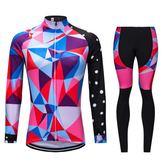 雙十二狂歡購騎行服套裝長袖春秋季夏季男女自行車山地車裝備上衣褲子服裝定制