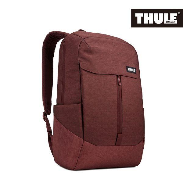 THULE-Lithos 20L筆電後背包TLBP-116-酒紅