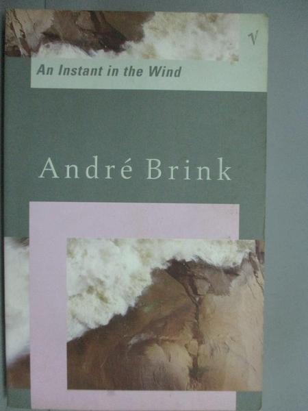 【書寶二手書T9/原文小說_KGS】An instant in the wind_André Brink.