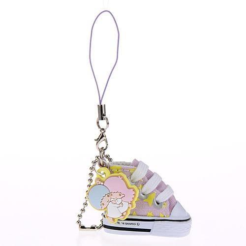 雙子星 帆布鞋吊飾 包包吊飾 手機吊飾 kikilala 日本正版 該該貝比日本精品 ☆