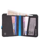 Lifeventure 英國 RFID Compact Wallet 雙折錢包 灰 68265 防掃描 RFID 信用卡 出國 旅行【易遨遊】