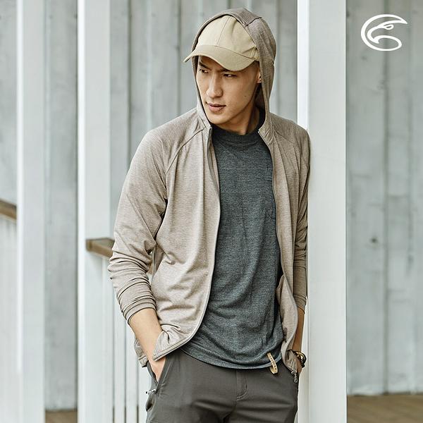 ADISI 男高針數吸濕快乾連帽外套 AJ2011095 (S-2XL) / 城市綠洲 (輕薄透氣、排汗快乾)