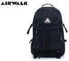 【橘子包包館】AIRWALK 打勾勾 高密度尼龍多功能大容量筆電後背包 A635321120 黑色