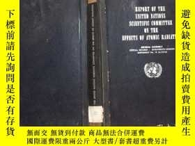 二手書博民逛書店report罕見of the united nations sc