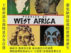 二手書博民逛書店Peoples罕見of West Africa 英文原版-《西非