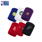 NBA護腕 運動護腕 運動配件 球隊Logo刺繡毛圈護腕