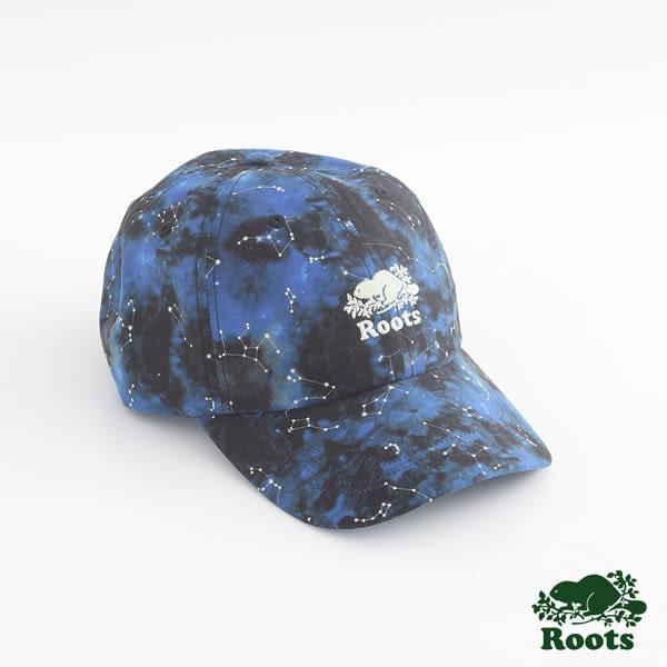 Roots  配件- 星空夜光棒球帽 - 黑色