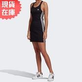 【現貨】Adidas ADICOLOR 女裝 連身裙 洋裝 休閒 黑【運動世界】GN2878