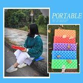 野餐墊 防潮坐墊戶外可摺疊野餐墊單人防潮墊隨身便攜泡沫公園地墊防墊子 5色