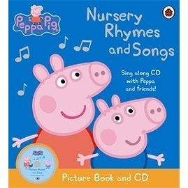 【麥克書店】PEPPA AUDIO BOOK NURSERY RHYMES AND SONGS /繪本+CD