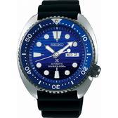【台南 時代鐘錶 SEIKO】精工 Prospex 兩百米專業潛水錶機械錶 SRPC91J1@4R36-05H0A 矽膠帶 藍/黑 45mm