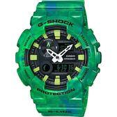 【東洋商行】免運 CASIO 卡西歐 G-SHOCK 衝浪運動潮汐錶-綠 GAX-100MB-3ADR 手錶 電子錶 腕錶