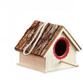 鳥窩鸚鵡窩實木鳥巢鳥用品用具小鳥屋裝飾
