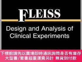 二手書博民逛書店預訂Design罕見And Analysis Of Clinical Experiments (Wiley Cla