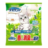 日本Unicharm嬌聯 消臭大師強力消臭結團紙砂-森林香5L