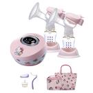 Combi 康貝 Hello Kitty 限量版雙邊電動吸乳器 贈 Kitty手提袋+主機收納方包+手動配件組
