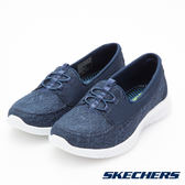 SKECHERS (女) 時尚休閒系列 WAVE LITE - 23627NVY