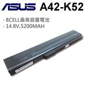ASUS 8芯 日系電芯 A42-K52 電池  A31-K52 A32-K52 A42-K52 A41-K52 A32-K52 A42-K52