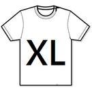 【T-Shirt (XL)】短袖-T恤 背心 大尺碼 - XL