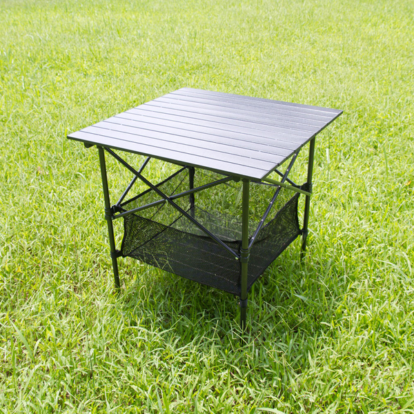 黑金鋼露營蛋捲桌