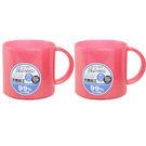 日本製mju-func®銀纖維高級抗菌加工潄口杯妙屋房雙人2件組(粉紅+粉紅)UG-MPP