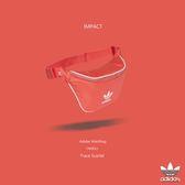 IMPACT Adidas Originals Waistbag 橘紅 腰包 斜背包 斜肩包 隨身包 運動 CW0611