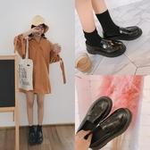 英倫復古女娃娃鞋 夏英倫風休閒小皮鞋學院風復古女鞋牛津平底復古單鞋流蘇樂福鞋 99