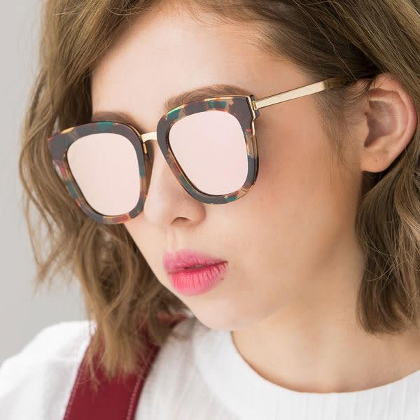 OT SHOP太陽眼鏡‧抗UV韓系高質感偏光太陽眼鏡‧全黑/亮黑/大理石黑/粉/紫反光‧現貨五色‧N40