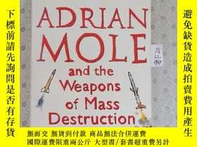 二手書博民逛書店32開英文原版罕見Adrian Mole and the Weapons of Mass Destruction奇