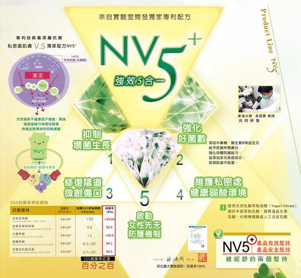 ♡WellnuX維妮舒NV5⁺長效菁華(5ml x 8支 女性私密部位頂級深度保養)