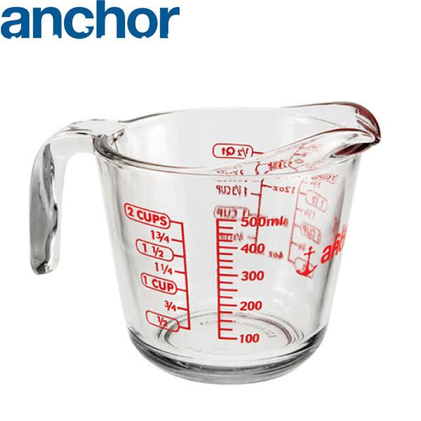 美國Anchor 安佳專業級強化玻璃量杯(500cc)