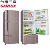 《台灣三洋SANLUX》 480L雙門變頻直流電冰箱 SR-C480BV