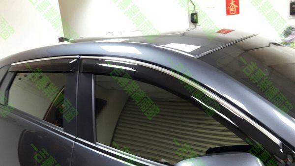 【一吉】Civic五代 K6 三門( 鍍鉻飾條款)  晴雨窗 台灣製造/ K6晴雨窗 五代晴雨窗 K6 晴雨窗