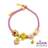 威世登黃金潘朵拉3D硬金串飾手鍊四件組-粉紅貴賓狗(約0.30~0.33錢)-GC00291-#EXXX