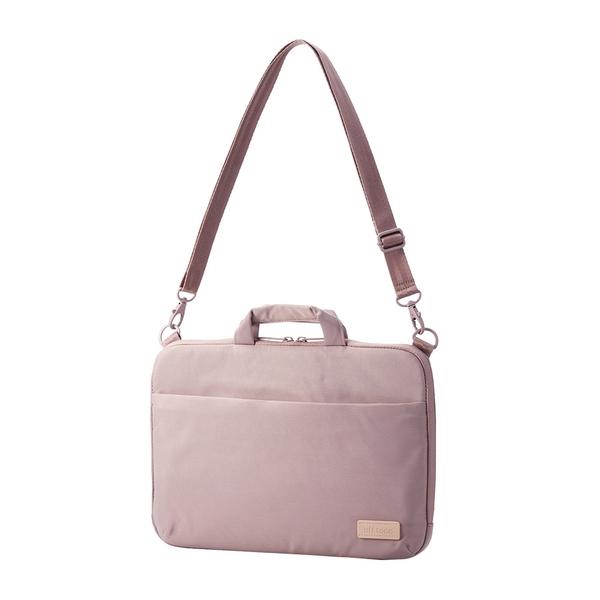 ELECOM OT兩用電腦包(14吋)/筆電包/手提電腦包-朦朧紫