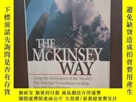 二手書博民逛書店The罕見McKinsey Way: Using the Techniques of the World s To