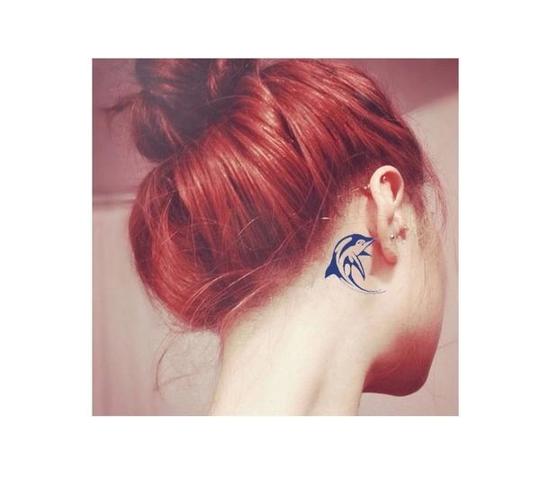 全身紋身貼 刺青貼紙 手臂 貼紙 動物紋身貼 韓版卡通可愛紋身貼 潮人紋身貼 暗黑系紋身 8082