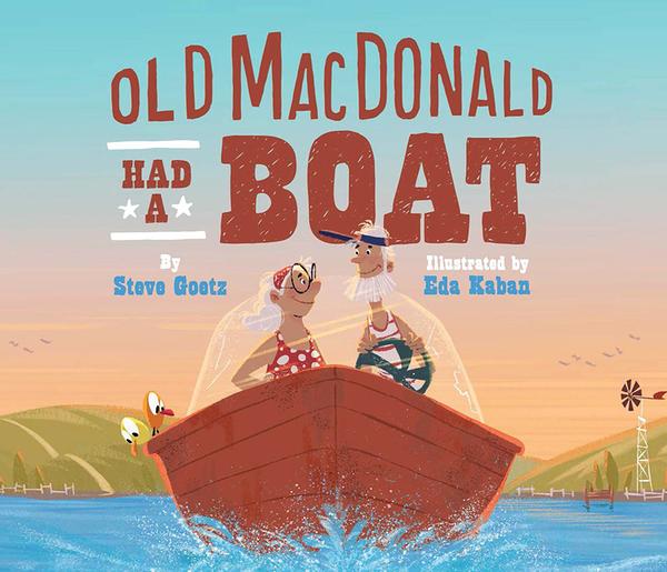 【麥克書店】OLD MACDONALD HAD A BOAT/ 英文繪本《主題:童謠韻文 》