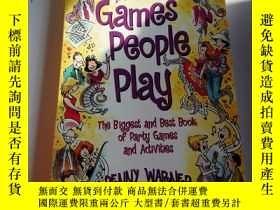二手書博民逛書店Games罕見people play(英文)Y212829 PE