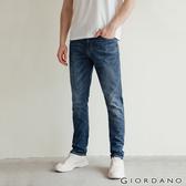 【GIORDANO】男裝彈性輕薄牛仔褲 - 95 淺藍
