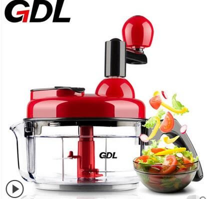 GDL/高達萊手動絞肉機多功能切菜器絞菜碎菜攪拌機餃子餡機家用