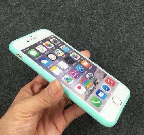 [24hr 火速出貨] 蘋果 iphone 6s plus 糖果色圓孔手機保護殼 手機殼 保護殼 防摔 背殼 軟殼 tpu 素色